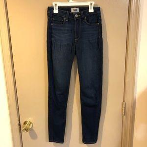 PAIGE Hoxton Ankle Skinny Jeans - Size 25 EUC